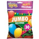 Jumbo Balloons - Pack of 30