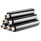 Black Pallet / Shrink Wrap with Extended Core - 500mm x 250m - 20 Microns