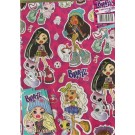 Bratz Gift Wrapping Papers & Tags - Pack of 2 - 50cm X 69.5cm