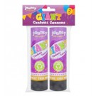 Time to Party Giant Confetti Cannons - Pack of 2