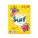 Surf Caribbean Crush Biological Washing Powder with Fragrance Release - 650g - Price Marked £2.49