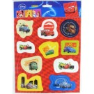 Disney Panini 3D Stickers - Cars - Pack Of 10 - Assorted Designs