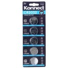 Konnect CR2032 Lithium Button Battery - 3V - Pack of 5