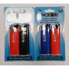 Crocs Premium Pocket Lighter with Pre-Adjusted Flame - Electronic Ignition - Assorted Colours - Pack of 2