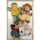 Cuddly Toys - Shapes, Colours And Sizes May Vary - No Returns