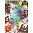 Descendants Gift Wrapping Papers & Tags - Pack of 2 - 50cm X 69.5cm