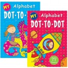 MY ALPHABET DOT TO DOT BOOK - AGES 3 - 5 YEARS