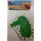 Pet Grooming And Massage Glove / Mitt - Assorted Colours