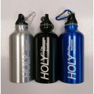 Holy The Wellness Drink - Aluminium Sports Bottle with Hook - Colours May Vary