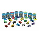 Hot Wheels Blue Tub with Slime, Hot Wheels Car & Poster - 7.5 x 5.5cm - Assorted Colours - Price Marked £2.99