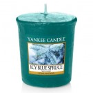 Yankee Candle - Samplers Votive Scented Candle - Icy Blue Spruce - 50g