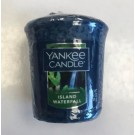 Yankee Candle - Samplers Votive Scented Candle - Island Waterfall - 50g