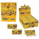 Juicy Jays Banana Flavoured Cigarette Rolling Paper Big Size - Pack Of 24 - 32 Leaves Per Pack