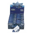 Juicy Jays Blueberry Flavoured Cigarette Rolling Paper Big Size - Pack Of 24 - 32 Leaves Per Pack