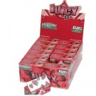Juicy Jays Raspberry Flavoured Cigarette Rolling Paper Big Size - Pack Of 24 - 32 Leaves Per Pack