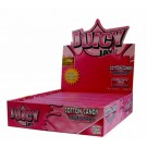 Juicy Jays Cotton Candy Flavoured Cigarette Paper King Size Slim  - Pack Of 24 - 32 Leaves Per Pack