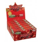 Juicy Jays Very Cherry Flavoured Cigarette Rolling Paper Big Size - Pack Of 24 - 32 Leaves Per Pack