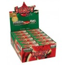 Juicy Jays Watermelon Flavoured Cigarette Rolling Paper Big Size - Pack Of 24 - 32 Leaves Per Pack
