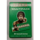 Karma Finest Quality Rolling Paper - Multipack - 400 Leaves - Pack of 8 Booklets