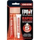 Evo-Stik Epoxy Ultra-Strong Rapid Fast-Set Adhesive - 30ml