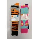 Avenue Kids Cotton Rich Children's Welly Socks - 6 - 8 1/2 UK - Assorted Designs - Pack of 2 - Price Marked £1.99 - 0% VAT