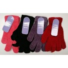 Chenille Soft & Cosy Ladies Gloves - Assorted Colours - One Size - Price Marked £1.75