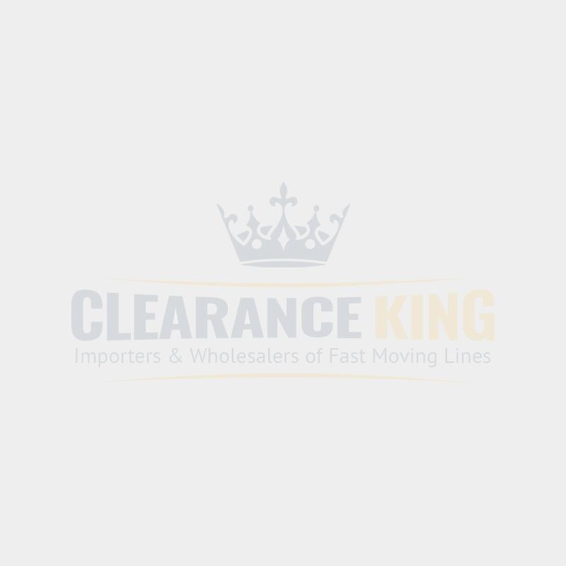 FlameJack Electronic Refillable Lighter - Leaf Design - Assorted Colours & Design - Pack of 25