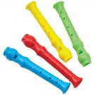 Party Bag Fillers - Mini Recorders - 10cm - Colours May Vary