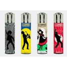 Clipper Classic Large Reusable Lighters - Music Generation 2 - Assorted Colours & Designs