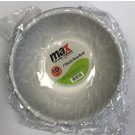 """Max House Wares Disposable Plastic Deep Bowl - 7"""" - White - Pack of 10"""