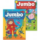Jumbo Colouring Book - Assorted Designs - 27 x 19.5cm