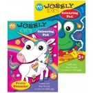 My Wobbly Eyes Colouring Pad - Assorted Designs - 29.5 x 21cm