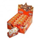 Juicy Jays Peaches & Cream Flavoured Cigarette Rolling Paper Big Size - Pack Of 24 - 32 Leaves Per Pack