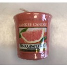 Yankee Candle - Samplers Votive Scented Candle - Pink Grapefruit  - 50g