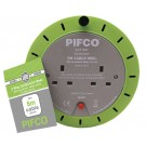 Pifco 2 Way Cassette Reel Extension Lead - 5 Meters