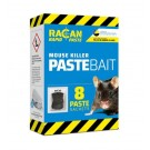 Racan Rapid Paste Bait Mouse Killer - 80g - Pack of 8 - Exp 09/20