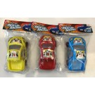 Red Deer Toys Push & Go Pick-Up Racing Car - Assorted Colours - 26 x 18 x 9cm