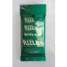 Rizla Medium Thin Green Regular Cigarette Paper with Cut Corners - Pack of 5 Booklets