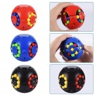 4GL Rubik Cube Sensory Fidget Spinner Puzzle Ball Toy - 6cm - Colours May Vary