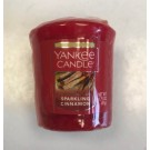 Yankee Candle - Samplers Votive Scented Candle - Sparkling Cinnamon - 50g