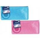 Sequin Pencil Case - 2 Colours - Blue And Fuchsia - Colours May Vary