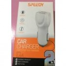Speedy 2 In 1 Twin Usb Car Charger - Iphone 5G/5/6/7/8/X/10