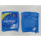 Always Classic Night Time Sanitary Towels/Pads With Wings - Pack Of 8