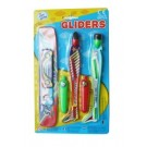 Toy Twin Glider Plane - Pack of 2