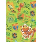 Dinosaur Train Gift Wrapping Papers & Tags - Pack of 2 - 50cm X 69.5cm