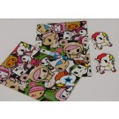Tokidoki Gift Wrapping Papers & Tags - Pack of 2 - 50cm X 69.5cm