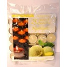 Carlingford Superb Quality Night Light Candles - Vanilla - Pack of 25