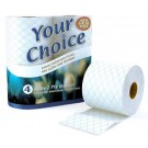 Luxury Quilted Your Choice White Toilet Tissue Paper - 2 Ply - Pack Of 4