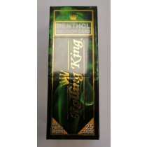 Rolling King Premium Quality Infusion Card - Menthol - Pack of 25