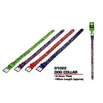 Pets That Play Dog Collar - 2cm x 40cm - Assorted Colours